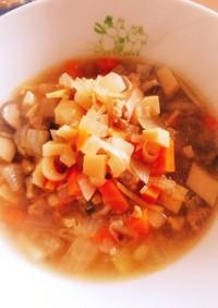 あったか生姜スープ〜セブン風