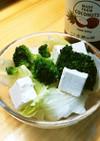 MCTオイルとブロッコリーのポン酢サラダ