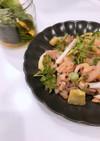 牛肉と新玉ねぎの甘辛炒め