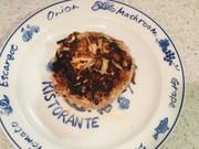 ごぼう玉ねぎゴロゴロハンバーグの写真