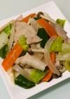 きざみねぎ塩&にんにくの豚バラ肉野菜炒め