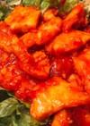 簡単絶品☆鶏むね肉のチリソース