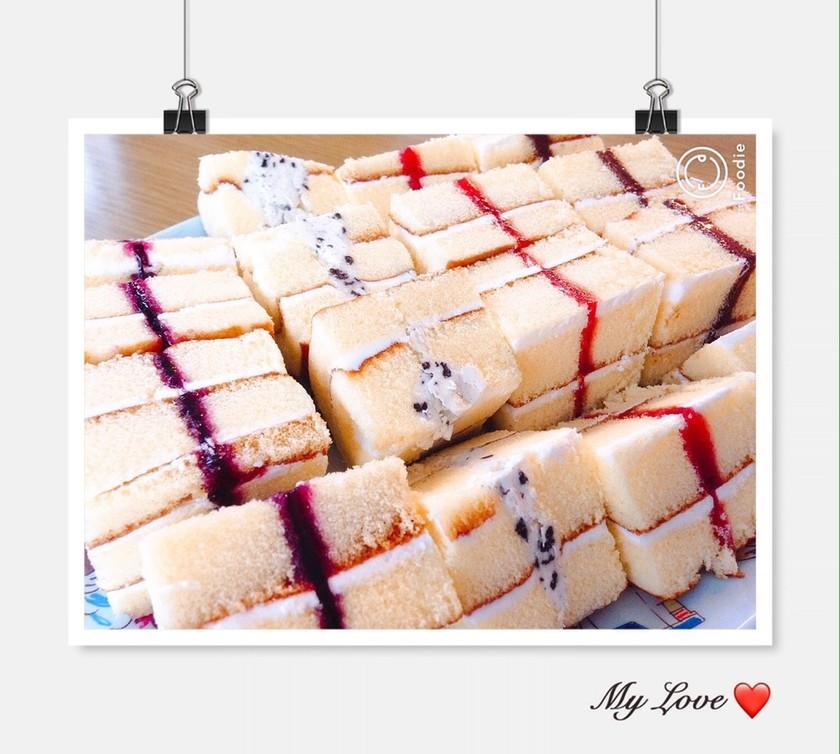 簡単♡スイスロールケーキ♡
