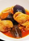 簡単♡︎鶏肉とナスのトマト煮込み