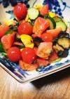 夏野菜のさっぱりマリネ風