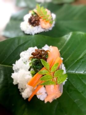 朴葉寿司♪