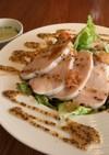 鶏むね肉のサラダ マスタードドレッシング