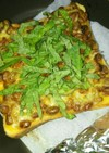 納豆トースト&カルディのサテトム辣油