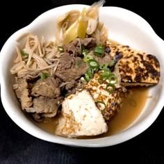 【簡単】【絶品】肉豆腐