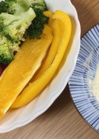 ごま味噌マヨディップで♡野菜スティック