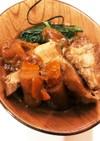 豚と玉ねぎとゴボウ煮 象印 自動圧力鍋