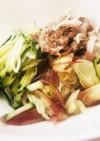 さっぱりがっつり梅マヨ素麺