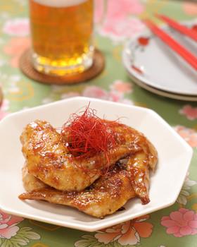 フライパンで簡単♪手羽先の中華風甘辛煮