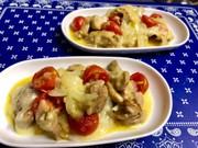 カレー風 鶏もものチーズ焼の写真