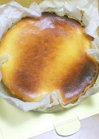 濃厚❣簡単スペインバスク風チーズケーキ♡