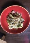 ピリ辛の野菜炒め(高菜入)