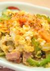 ふわふわ卵のゴーヤチャンプル⁂簡単麺つゆ