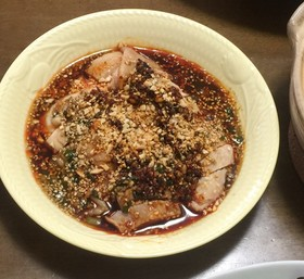 四川口水鶏  辛口鶏肉