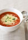 トマトとコーンミールのまろやかスープ♡