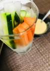 ヘルシー野菜スティック〜特製味噌マヨ