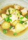 鮭の煮物(血管ダイエット1380)