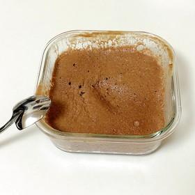 ナッツクリチプロテイン蒸しパン