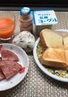 【朝ごはん】女子小学生☆陸上娘のご飯