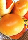 杏クリームパン