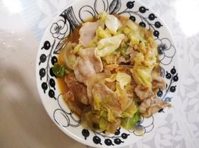 簡単に♪豚バラ肉とキャベツの回鍋肉