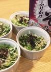 水菜の白和え紫蘇風味