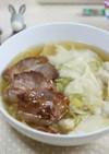 紀文の肉わんたんを使った わんたん麺