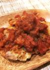 パルメザンチーズが旨し。鶏肉のピカタ