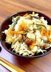 炊飯器で☆山菜おこわ風炊き込み混ぜご飯