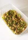 蕪の葉とひき肉のおにぎりか混ぜ込み具材