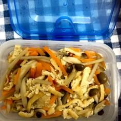 レンチンでok!余り野菜で混ぜご飯の素