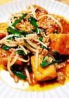 肉味噌炒め 高野豆腐アレンジレシピ