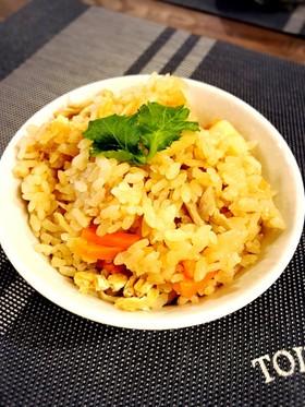 簡単!筍と舞茸の炊き込みご飯♥