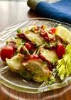 タコ・トマトのイタリアンサラダ