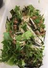 大根と水菜のシャキシャキサラダ!