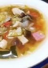 夏野菜たっぷりダイエットスープ!