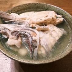 鯛のアラの潮汁