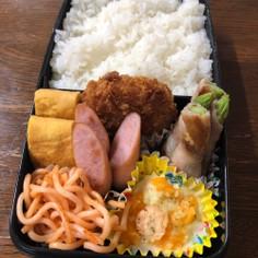 中学生男子弁当☆20190614