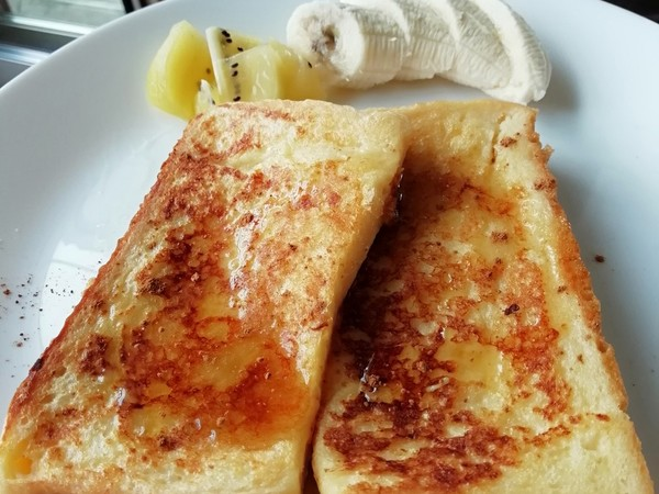 朝にすぐ出来!しみてるフレンチトースト