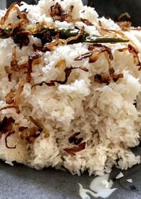 バングラデシュ♡極小米の炒めごはん