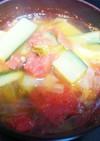冷房対策に☆朝から簡単サラダスープ