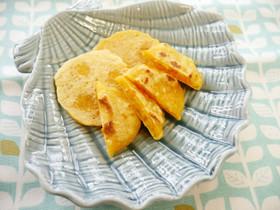 離乳食おやつ☆鮭と人参のパンケーキ