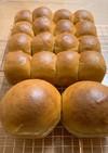 ふすまミックスでふすま粉ちぎりパン
