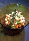 ひよこ豆の生胡椒サラダ