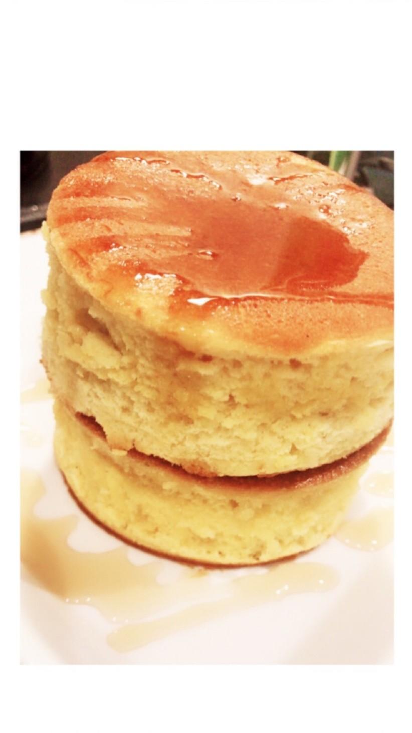 材料簡単☆HMふわふわスフレパンケーキ♡