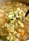 味噌仕立ての野菜スープ(酵素スープ)